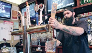 The Craftsman attracts brewers from across the country to its brewery and beer events. Contributed photos
