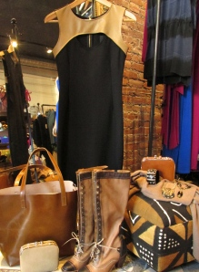 A perfect fall ensemble by Siren, a fashion and lifestyle boutique in Mamaroneck. Photos/Marguerite Ward