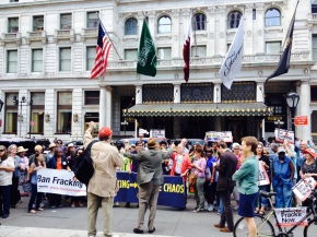 Ahead of People's Climate March, Hydrofracking Takes CenterStage