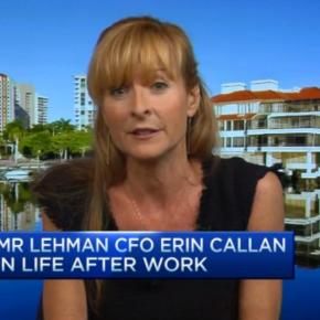 Former Lehman CFO Erin Callan Montella shares herstory